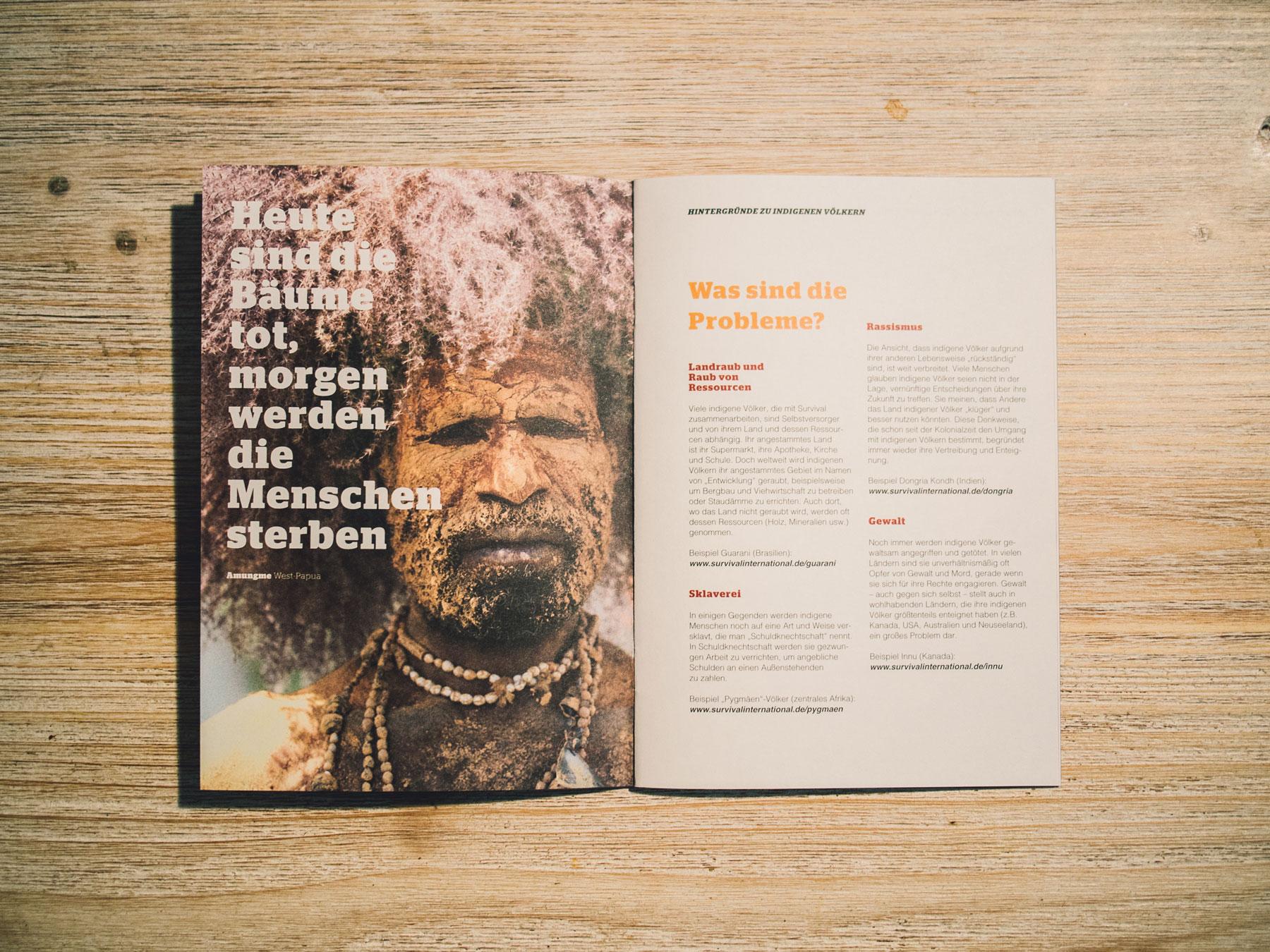Abbildung der Seiten 3 und 4 des Handbuchs